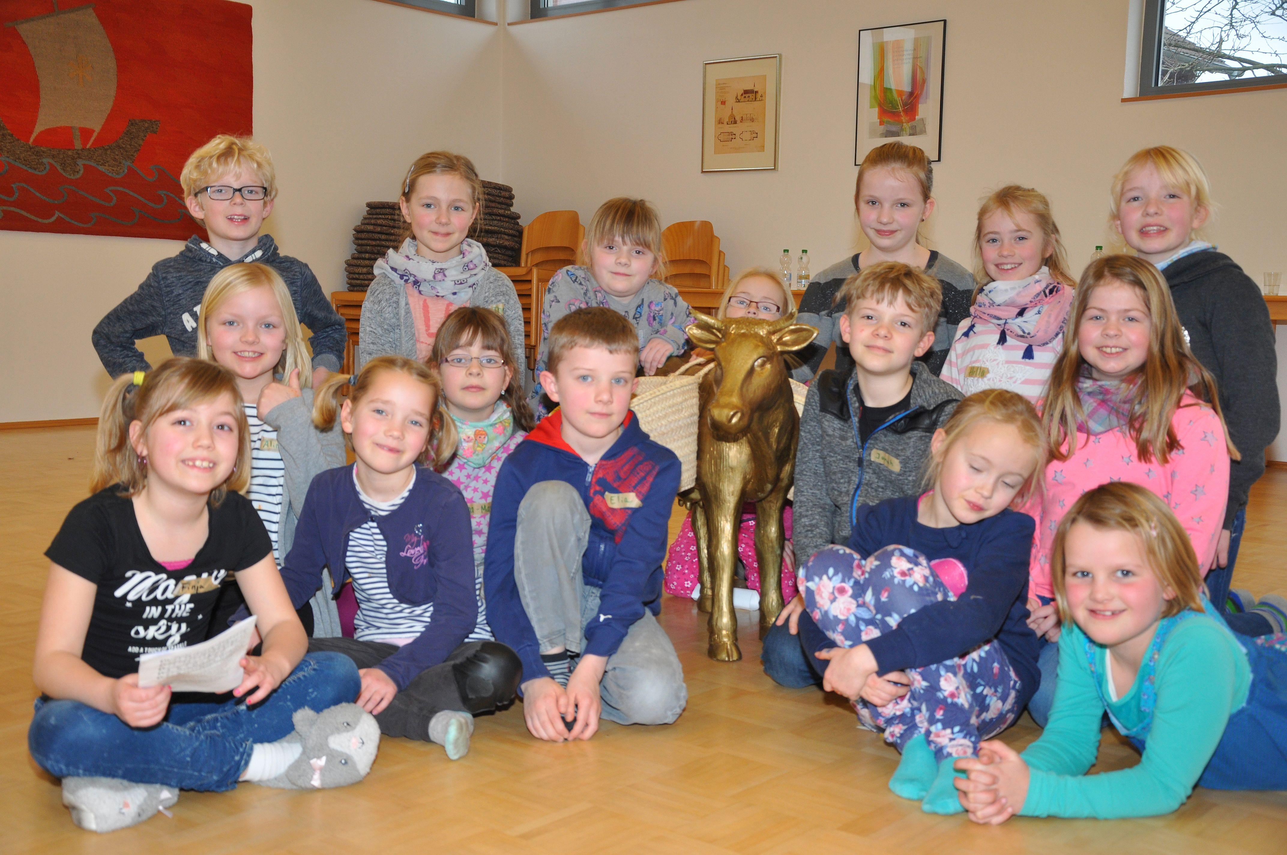 Im Elsa-Brandström-Haus feierten Kinder einen ökumenischen Bibeltag.