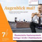Passionsandachten Matthäusheim
