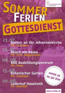 SommerFerienGottesdienst e 2017