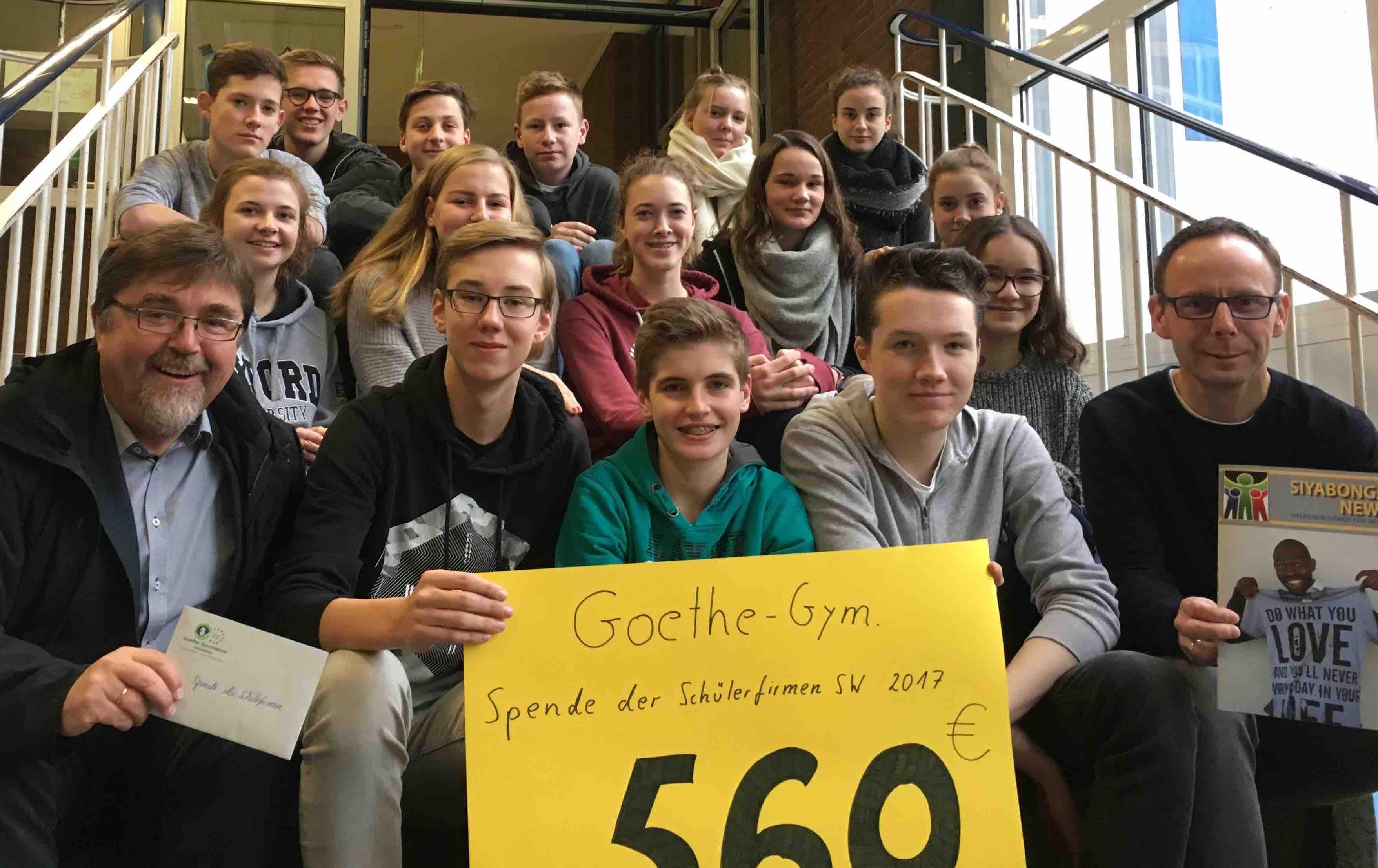 Goethe Schülerfirmen
