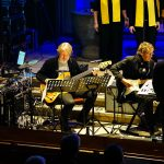 Michael Biewald (Schlagzeug), Sascha Oeing (E-Bass), Rolf Schorfheide (Gitarre), Harald Meyersick (Keyboard & Leitung).