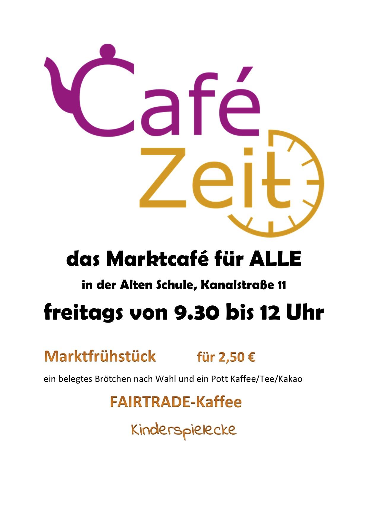 CafeZeitAufsteller
