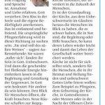 2014 06 07 Wort zum Sonntag Pfarrer Reinhard Lohmeyer