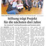 2015 10 08 IVZ Stiftung fördert KonSenZ