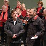 """Mit einem öffentlichen Benefiz-Konzert in der Christuskirche begann die Caritas-Aktion """"Eine Million Sterne"""" am Samstagabend in Ibbenbüren."""