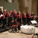 "Den Anfang machte der Chor ""caritakt"" des hiesigen Caritasverbandes."