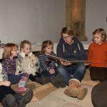 Schafe und Kinder mögen gern spielen und hüpfen: in der Christuskirche war das eine neue Erfahrung.