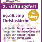 Stiftungsfest Pfingstsonntag 2019