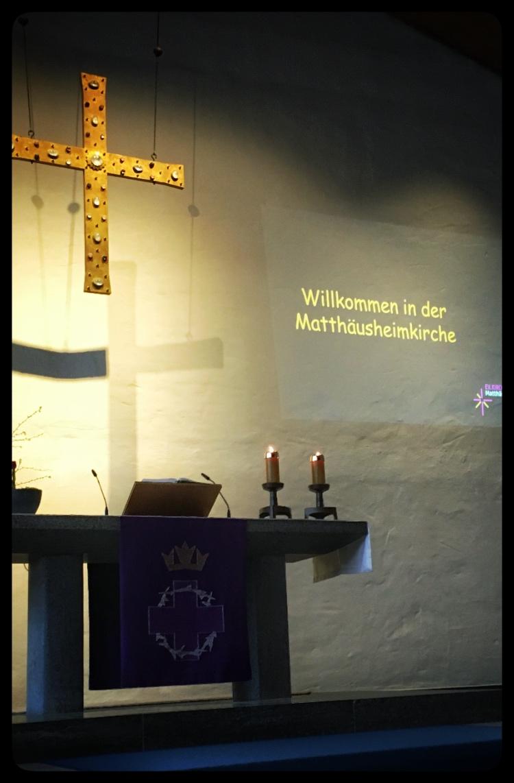 Matthäusheimkirche, 01.04.2019.